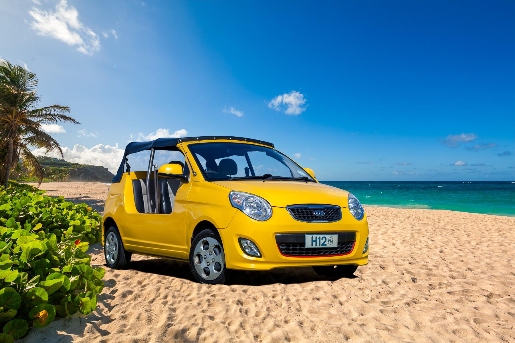 Hire A Kia Moke Moke Etan In Barbados From Stoutes Car