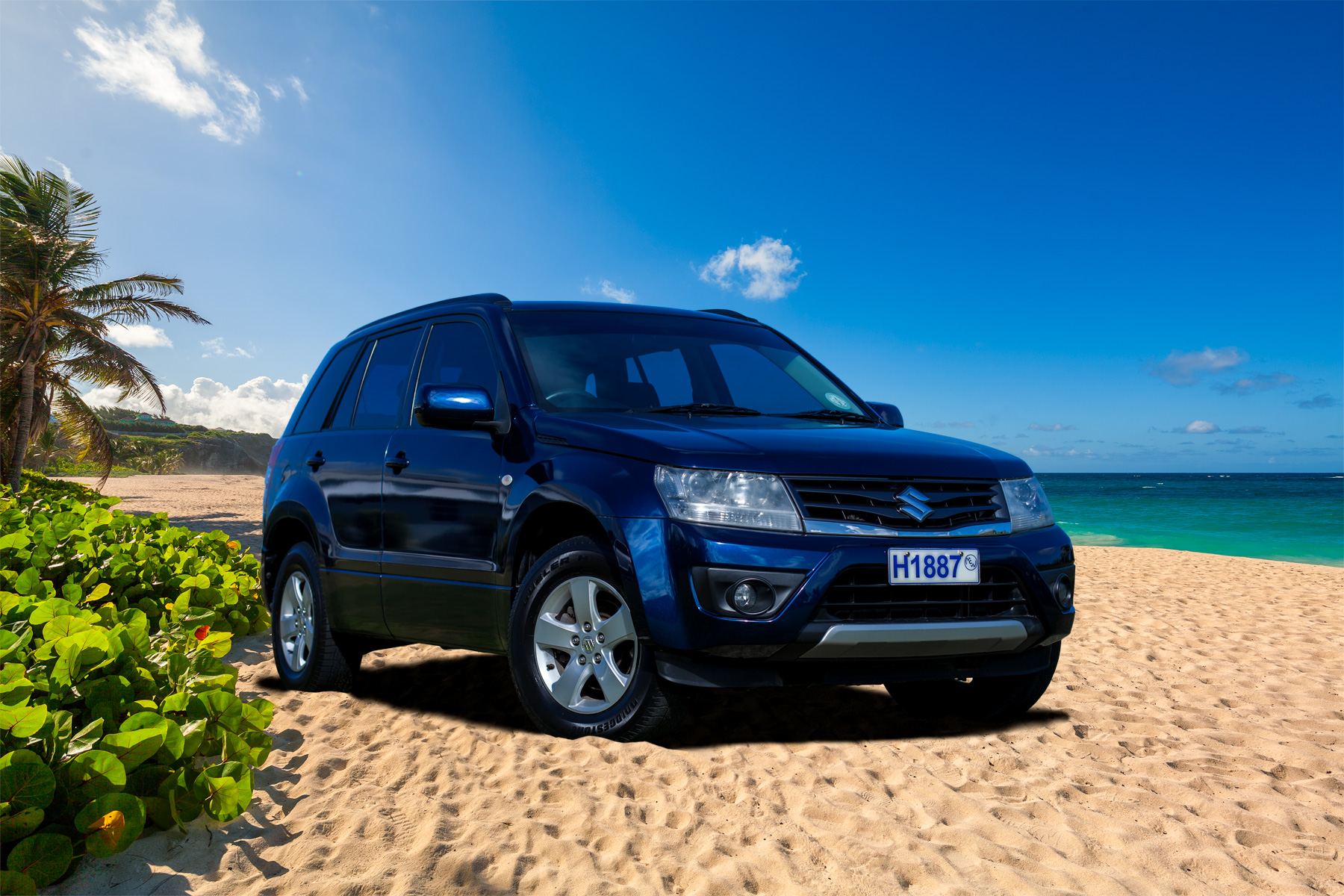hire a suzuki grand vitara standard suv sfar in barbados from stoutes car rental. Black Bedroom Furniture Sets. Home Design Ideas