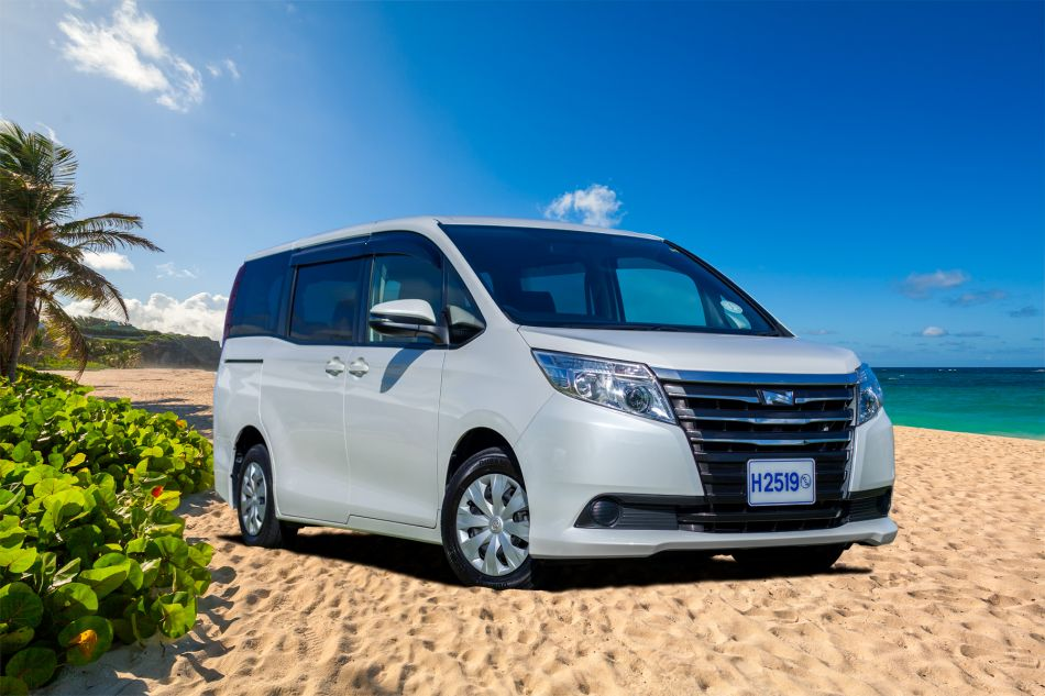 Hire a Toyota Noah Fully Loaded Van (MVAR) in Barbados ...