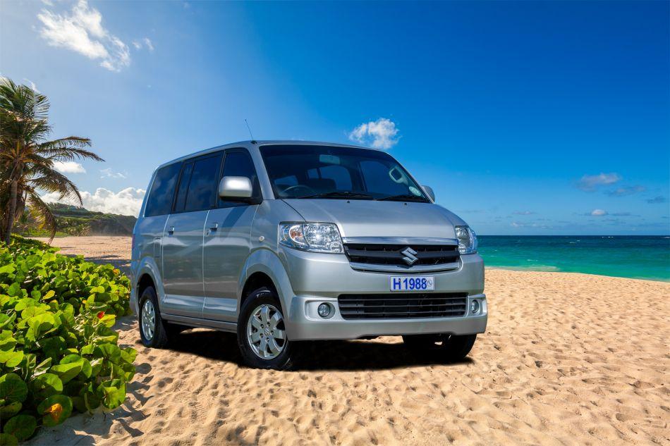 Hire a Suzuki APV Van Standard Van (SVAR) in Barbados from Stoutes